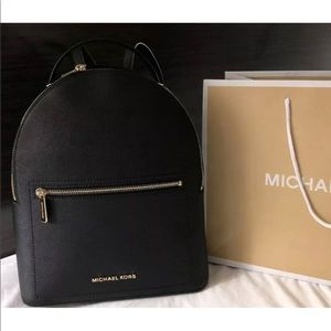 $298 Michael Kors Hessa Backpack Handbag MK Bag